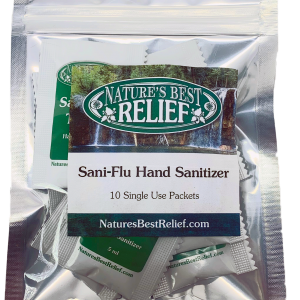 Hand Sanitizer Single Use Packs - 10 Count